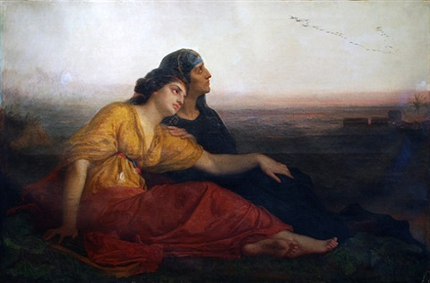 jewish captives at babylon by edward harrison may