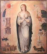 the immaculate virgin by vicente juan (de juanes) masip