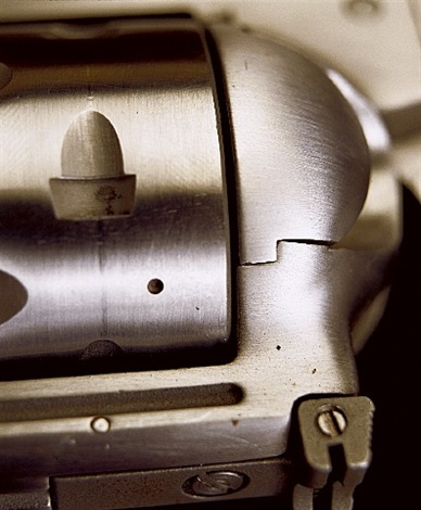 """objects of desire, """"virginian dragoon.44 magnum"""" by andres serrano"""