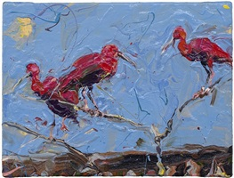 three red birds by paul richards