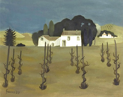 the vineyard by mary fedden