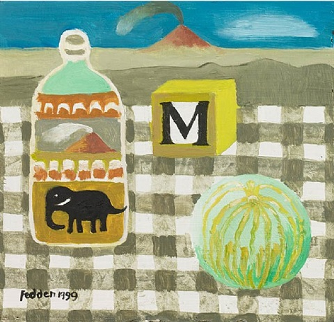 the volcanoes by mary fedden