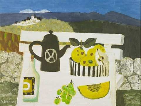 in the luberon by mary fedden