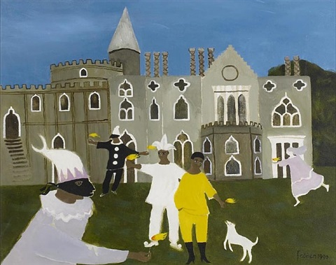 masque at strawberry hill by mary fedden