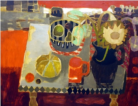 orange still life by mary fedden