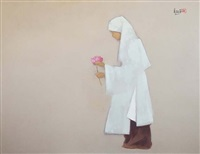 the young nun by nguyen thanh binh