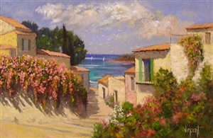haut du port, provence by vincent