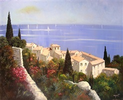 eze, riviera by vincent