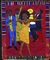 jazz stories: mama can sing, papa can blow #1: somebody stole my broken heart by faith ringgold