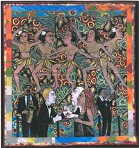the american collection #4: jo baker's bananas by faith ringgold