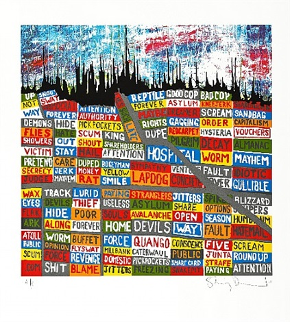 la by stanley donwood