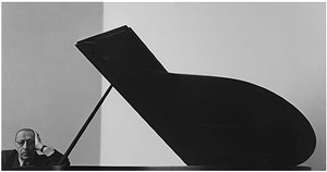 igor stravinsky, new york, city by arnold newman