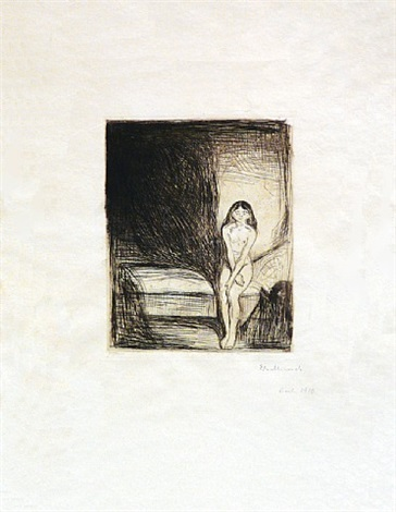 pubertet (puberty) by edvard munch