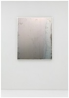 untitled (framed steel 6) by sam falls