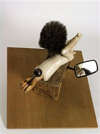 miroir voyeur by daniel spoerri