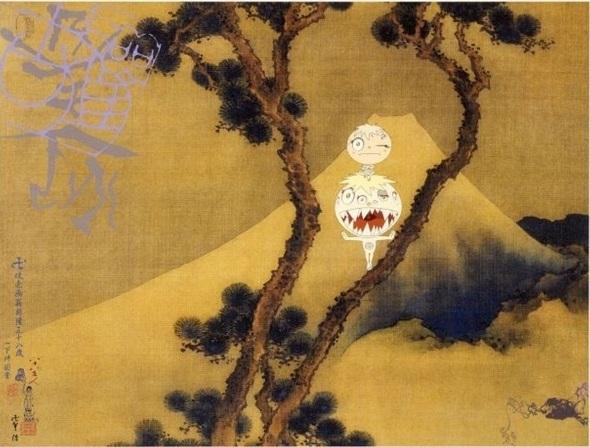 manji fuji by takashi murakami