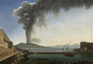 the eruption of vesuvius in the year 1813 by alexandre hyacinthe dunouy