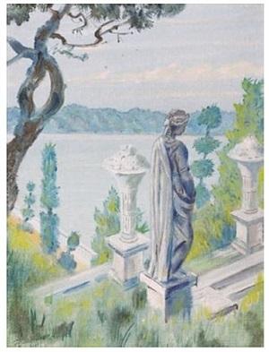 statue, honeywell by mstislav valerianovich dobuzhinsky