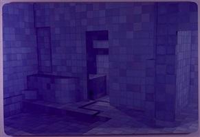 blue sauna by adriana varejão