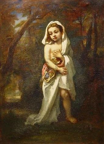 jeune fille dans le bois by narcisse virgile diaz de la peña