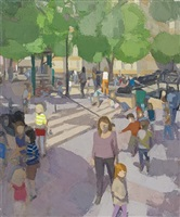 standing playground, early summer by john dubrow