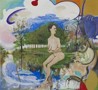 nude beside the river by verne dawson