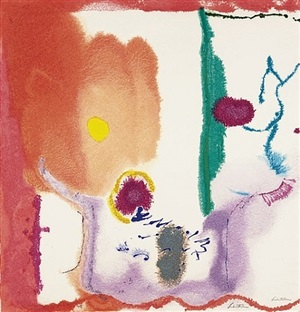 beginnings by helen frankenthaler