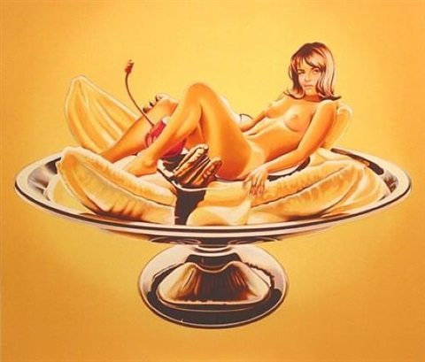 banana split by mel ramos