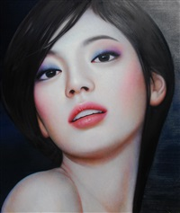 kiss me! by zhang xiangming