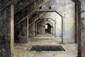 vue d'une installation d'anselm kiefer by stefan hoenerloh