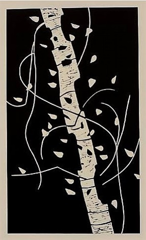birch ii by alex katz