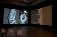 a requiem: laugh at the dictator / schizophrenic by yasumasa morimura