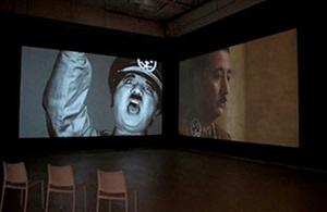 a requiem: laugh at the dictator / schizophrenic by yasumasa morimura