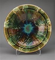 oribe large plate by ken matsuzaki