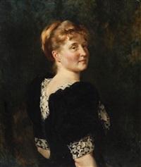 portrait of a woman by julian russel story