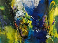 abstract 14 by jean-pierre lafrance