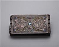 jeweled pelican box by alfred-louis-achille daguet