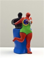 couple with vase by niki de saint phalle
