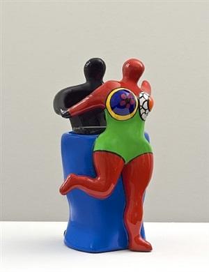 couple with vase by niki de saint phalle