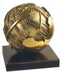 sfera / sphere by arnaldo pomodoro