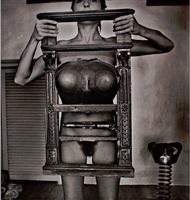 liliana maresca - desnudo con su obra #1 by marcos lópez