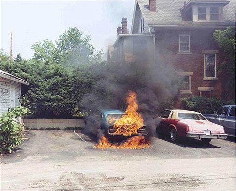 on fire, from the series 'ohio' by joachim brohm