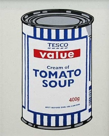 soupcan - original colourway by banksy