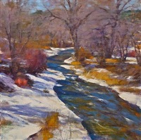 winter river by gregory frank harris