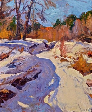 snow path by gregory frank harris