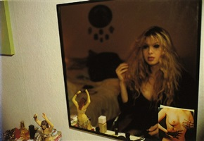 joey in my mirror, berlin by nan goldin