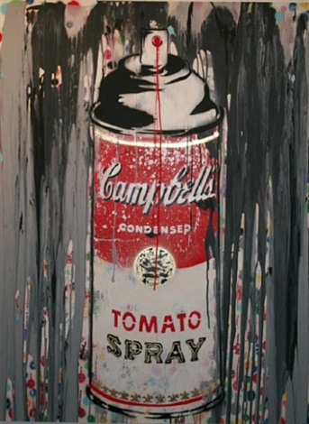 spray can by mr. brainwash