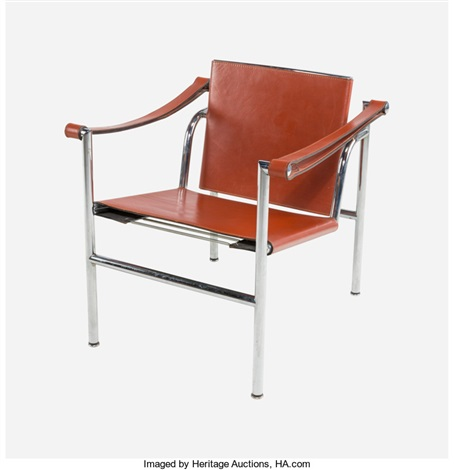 Lc1 Chair By Le Corbusier, Charlotte Perriand And Pierre Jeanneret