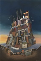 tower of babel by elena and michel gran