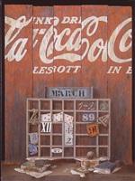 coca-cola calendar by elena and michel gran